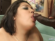 Fat Ass BBW Lorelai Givemore takes black dick.